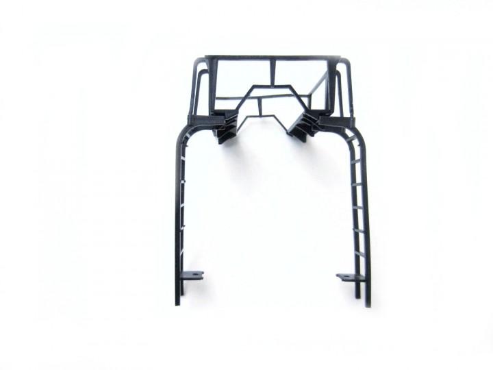 train leiter mit plattform f r lgb kesselwagen schwarz spur g. Black Bedroom Furniture Sets. Home Design Ideas