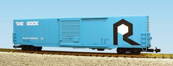 USA-Trains Rock Island Single Door - Blue ,Spur G