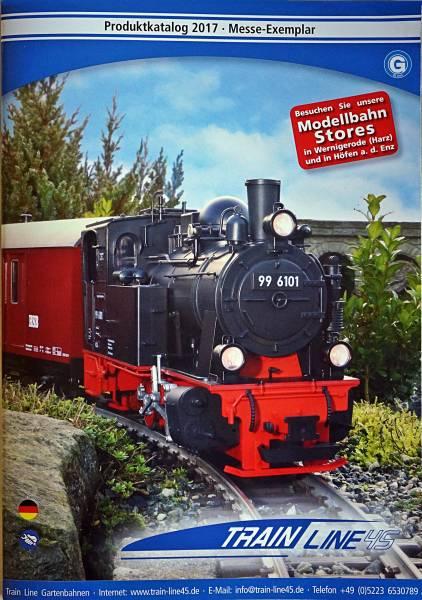 Train Line45 Katalog 2017 Messeexemplar Spur G Gartenbahn
