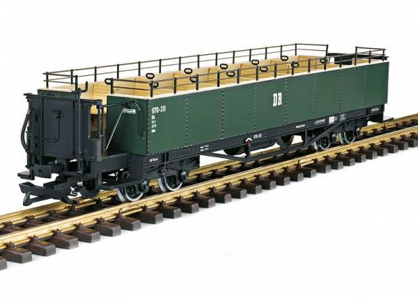 LGB Sommerwagen, Aussichtswagen grün, DR, 970-311, Spur G