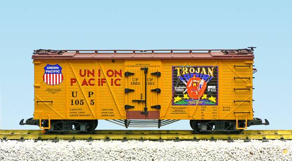 USA-Trains Union Pacific /Trojan Apples (#1055) – Yellow/BC Red ,Spur G