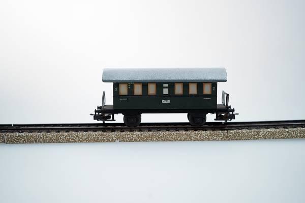 Märklin Personenwagen grün, Spur H0, 1:87, gebraucht