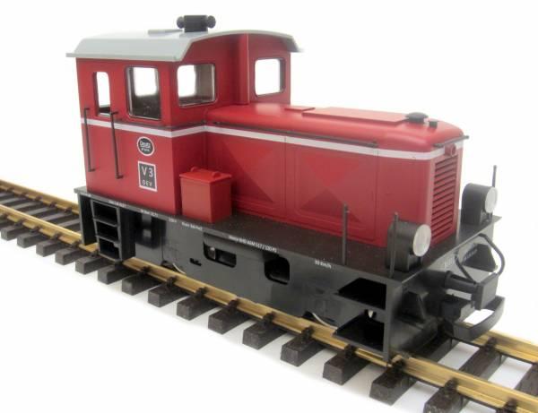 Train Line45 Diesellok Deutz V3, analog, Stirnlampe beleuchtet, Spur G