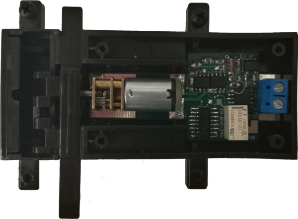 MD MWB DCC-Getriebemotor-Weichenantrieb mit Decoder, Herzstückrelais, Funktionsausgang, digital & an