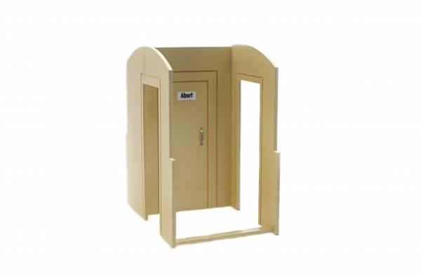 Zenner Toilettenabteil für 4 achsige Personenwagen der Spur G