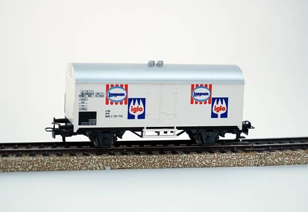 Märklin gedeckter Güterwagen Kühlwagen Langnese, Iglo, Spur H0, gebraucht