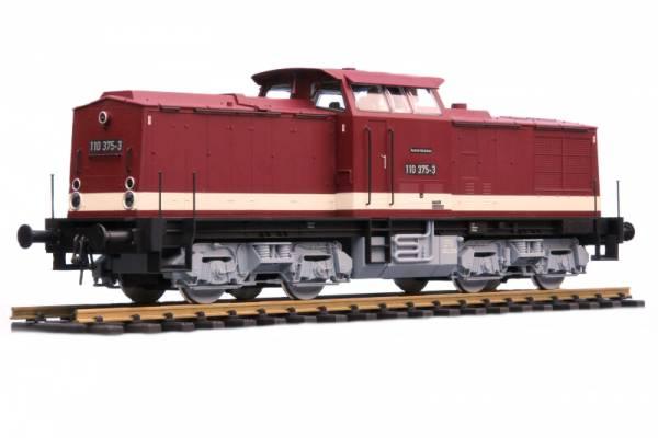 PIKO Diesellok V100 / V199 DR ist auf Spur 2 (64mm) umgespurt.
