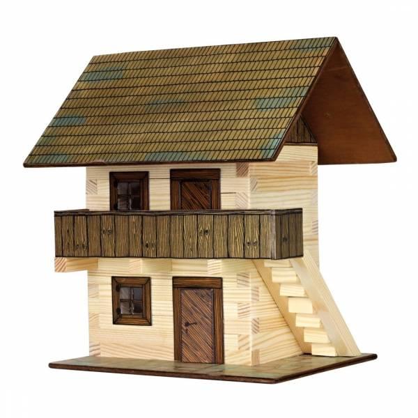 Walachia Haus Bausatz Nr. 06, Holzhaus für Spur 1/ Spur G, 1:32 Modellbau