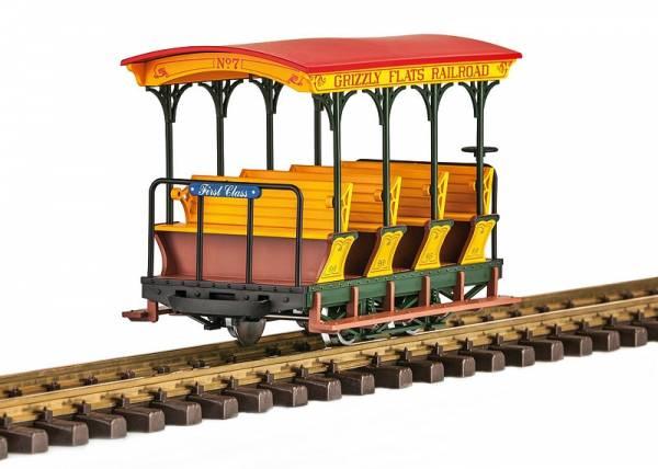 LGB Spur G Aussichtswagens 1. Klasse der Grizzly Flats Railroad