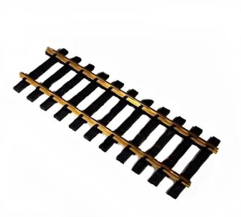 Zenner Bausatz 4 gerade Gleis Spur II (64mm), Länge 300mm,