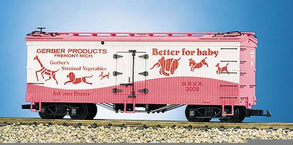 USA-Trains Gerber Girl - Pink/White,Spur G