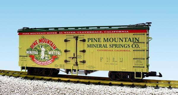 USA-Trains Pine Mountain - Light Green/Dark Green,Spur G