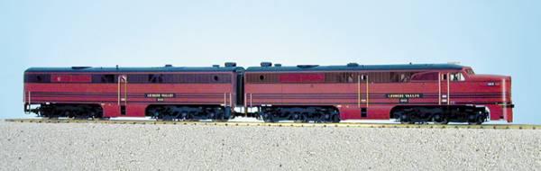 USA-Trains Lehigh Valley PA-1 & PB-1 - Cornell Red ,Spur G