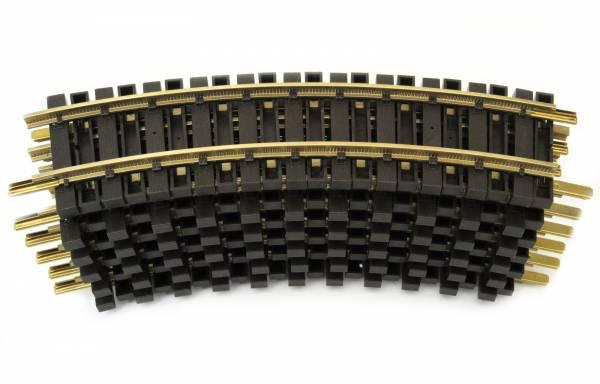 Piko 12 Messing Gleise, gebogen, R1=600mm, Spur G, kompatibel mit LGB