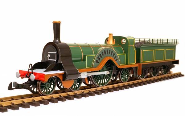 Bachmann Stirling steam locomotive 91404, analog, LGB coupling, attachments, G Scale garden railway IIm