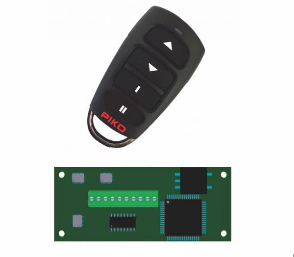 PIKO R/C Funk 2,4 GHz Sender und Empfänger, für Spur G Loks