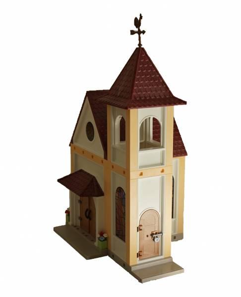 Playmobil Kirche Umbau geschlossen