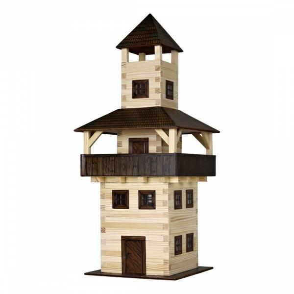 Kit di costruzione case in legno con torre Walachia 276 parti corsia 1 a corsia G
