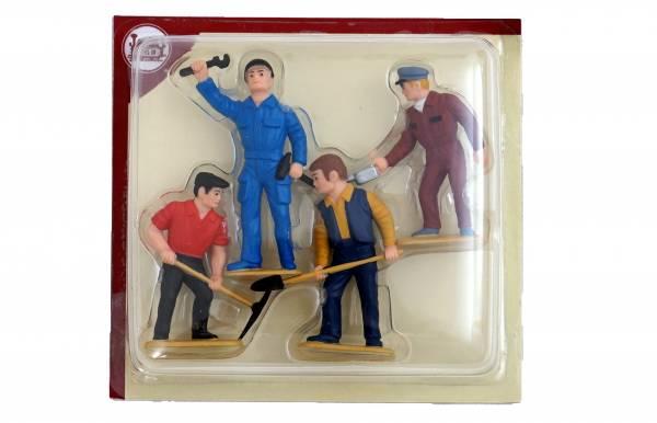 LGB Figuren, Gleisarbeiter, Spur G Maßstab 1:22,5